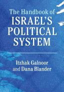 Pdf The Handbook of Israel's Political System