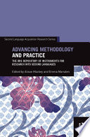 Advancing Methodology and Practice