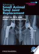 Advances In Small Animal Total Joint Replacement Book PDF