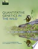 Quantitative Genetics In The Wild Book PDF