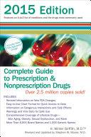 Complete Guide to Prescription and Nonprescription Drugs 2015