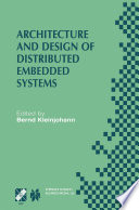 Architecture and Design of Distributed Embedded Systems Book