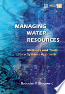 Managing Water Resources Book PDF
