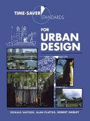 Time Saver Standards for Urban Design Book