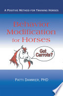 Behavior Modification for Horses