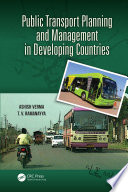 Public Transport Planning and Management in Developing Countries Book