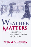Weather Matters Book