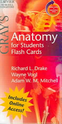 Cover of Gray's Anatomy for Students Flash Cards