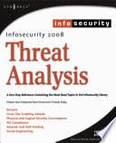 InfoSecurity 2008 Threat Analysis