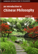 Cover of An Introduction to Chinese Philosophy