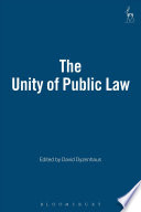The Unity of Public Law