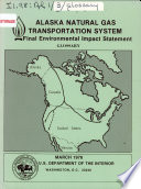 Alaska Natural Gas Transportation System Final Environmental Impact Statement  glossary