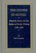 The Orders of Gothic