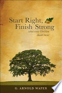 Start Right Finish Strong Book PDF