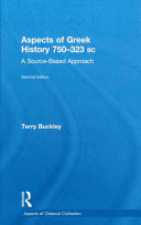 Cover of Aspects of Greek History 750-323 BC