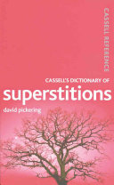 Cassell s Dictionary of Superstitions