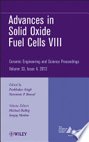 Advances In Solid Oxide Fuel Cells Viii Book PDF