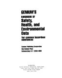 Genium s Handbook of Safety  Health  and Environmental Data for Common Hazardous Substances