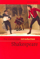 Cover of The Cambridge Introduction to Shakespeare