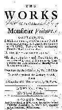 Pdf The Works of the Celebrated Monsieur Voiture