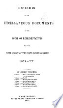 Miscellaneous Documents