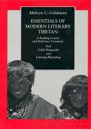 Pdf Essentials of Modern Literary Tibetan
