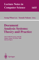 Document Analysis Systems Theory And Practice