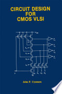 Circuit Design for CMOS VLSI Book