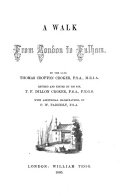 A walk from London to Fulham  revised and ed  by T F D  Croker