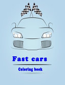 Fast Cars Coloring Book