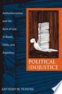 Political In Justice