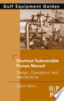Electrical Submersible Pumps Manual Book