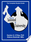 How to Succeed At University   International Edition Book