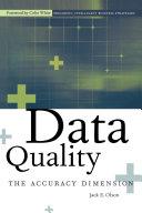 Data Quality Book