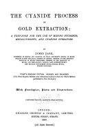 The Cyanide Process of Gold Extraction Book