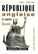 Pdf REPUBLIQUE anglaise et caprices de MARIANNE Par TANGUY KENEC'HDU Telecharger
