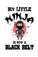 My Little Ninja Is Now a Black Belt