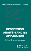 Regression Analysis and its Application