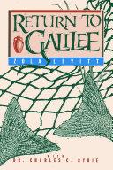 Return to Galilee Book