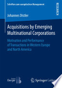 Acquisitions by Emerging Multinational Corporations