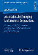 Acquisitions by Emerging Multinational Corporations: Motivation and ...