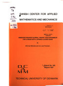 Report   Danish Center for Applied Mathematics and Mechanics Book