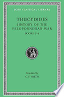History of the Peloponnesian War  Volume III