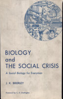 Biology and the Social Crisis Pdf/ePub eBook