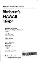 Birnbaum s Hawaii 1992