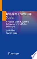 Becoming a Successful Scholar Book
