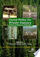 Forest Policy for Private Forestry