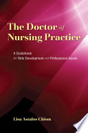 The Doctor of Nursing Practice Book