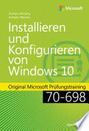 Installieren und Konfigurieren von Windows 10