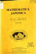 Mathematica Japonicae